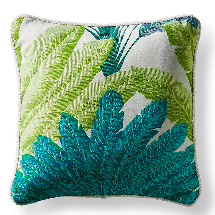 Atherton Palm Aruba Square Pillow
