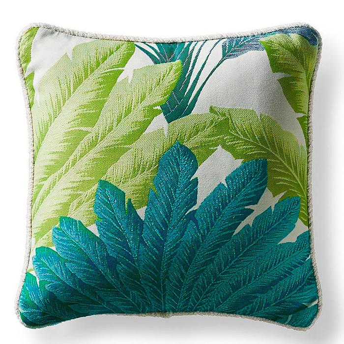 Atherton Palm Aruba Square Pillow
