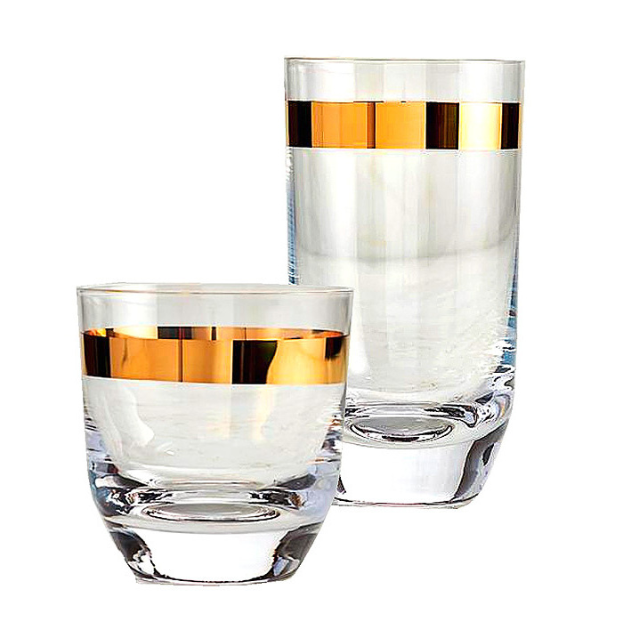 Arte Italica Semplice Highball Glass & Double Old-fashioned Glass