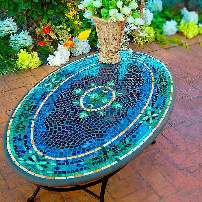 KNF Lake Como Oval Coffee Table