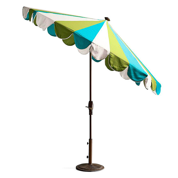 Gianna Designer Umbrella in Gingko Aruba
