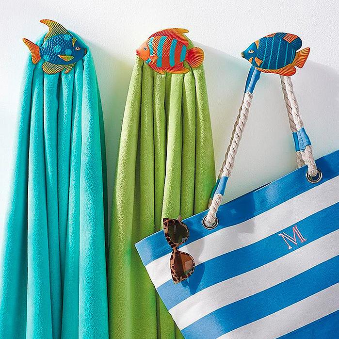 Fish Towel Hooks