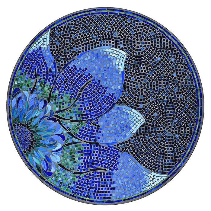 KNF - Neille Olson Mosaics Bella Bleu Collection