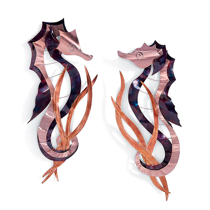 Seahorse Wall Decor by Copper Art