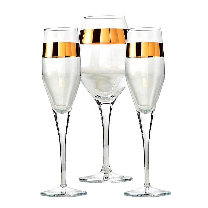 Arte Italica Semplice Champagne Flutes & Wine Glass