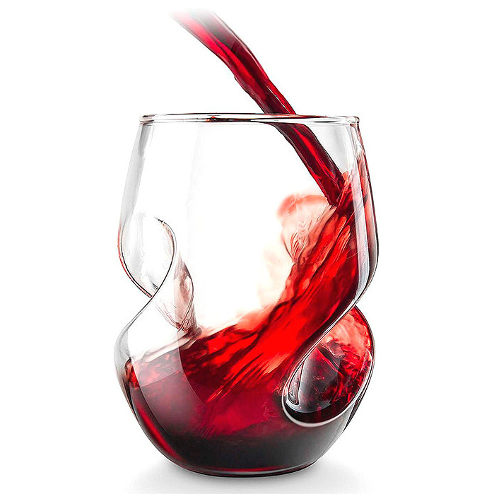 Conundrum Red Wine Glasses, Set of Four