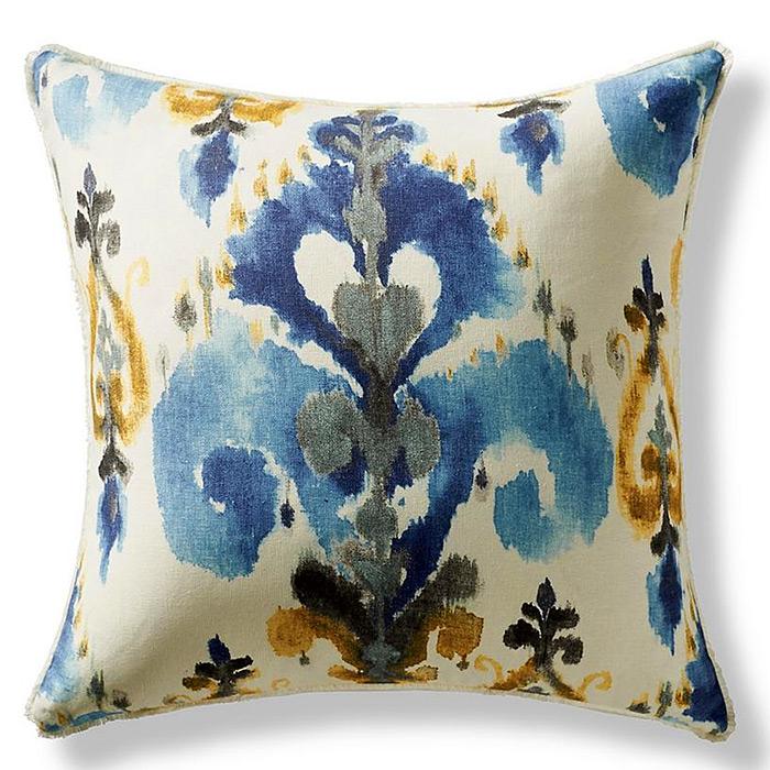 Aoki Azure Decorative Pillow