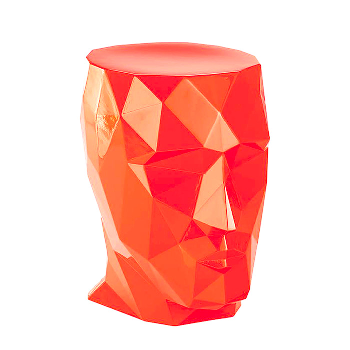 Pascal Stool in Tangerine