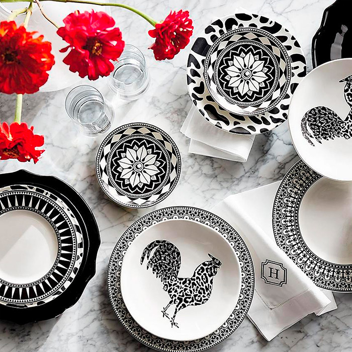 Cheetah & Caskata Casablanca Dinnerware Collection