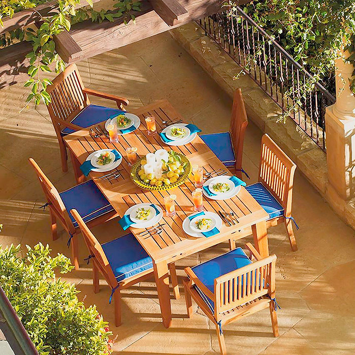 Cassara Dining in Natural Finish