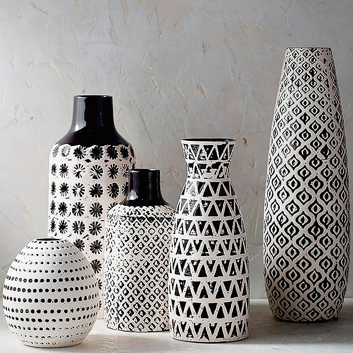 Chiara Ceramic Vase Collection