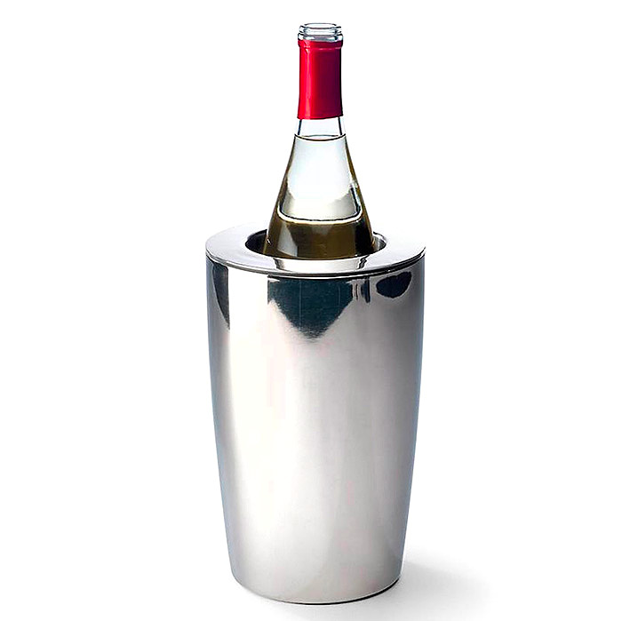 Super Chill Wine Cooler in Stainless Steel