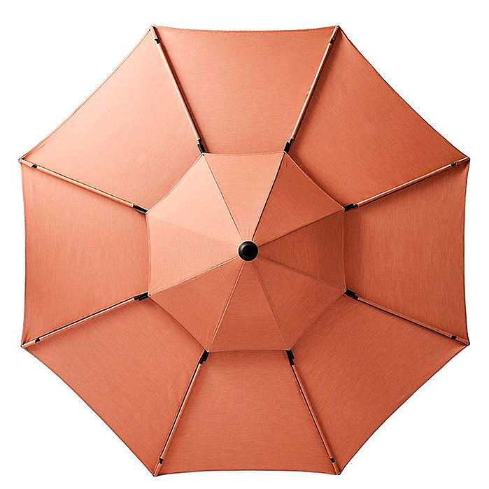10' Petal Umbrella in Blush