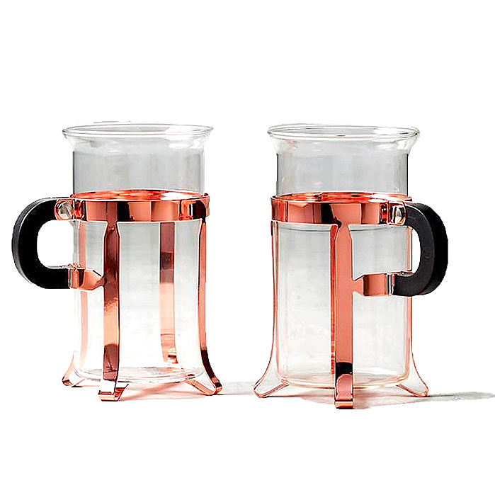 Bodum Chambord Coffee Glasses, Set of Two