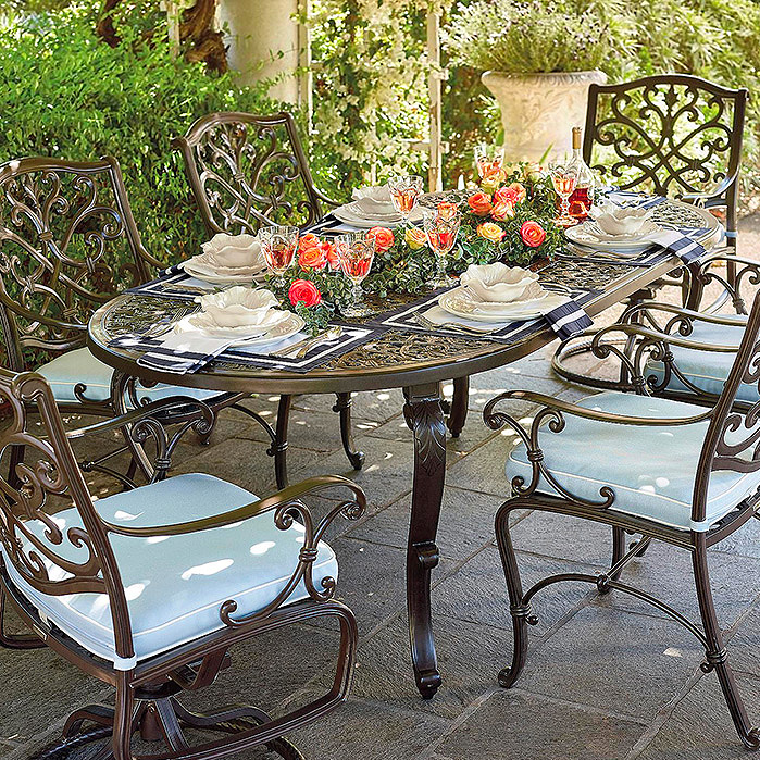 Orleans Dining in Chocolate Finish