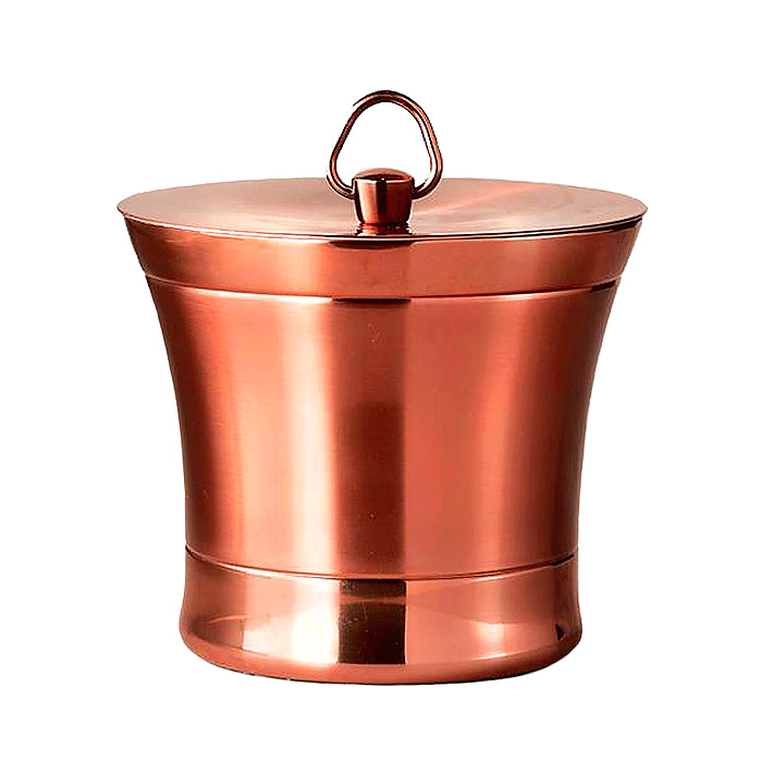 Optima Ice Bucket in Copper Finish