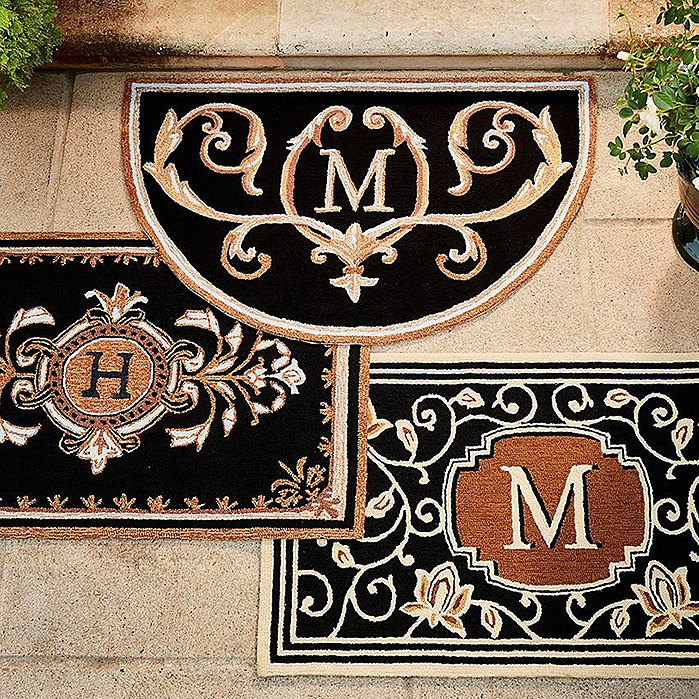 Huntington Monogrammed Door Mat