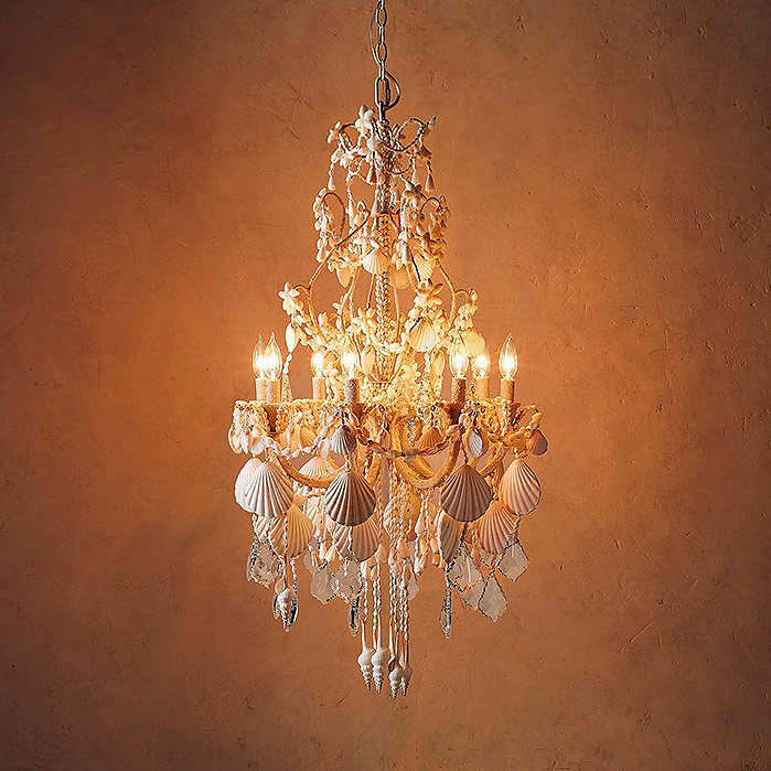 Copy of Harbor Shell Chandelier