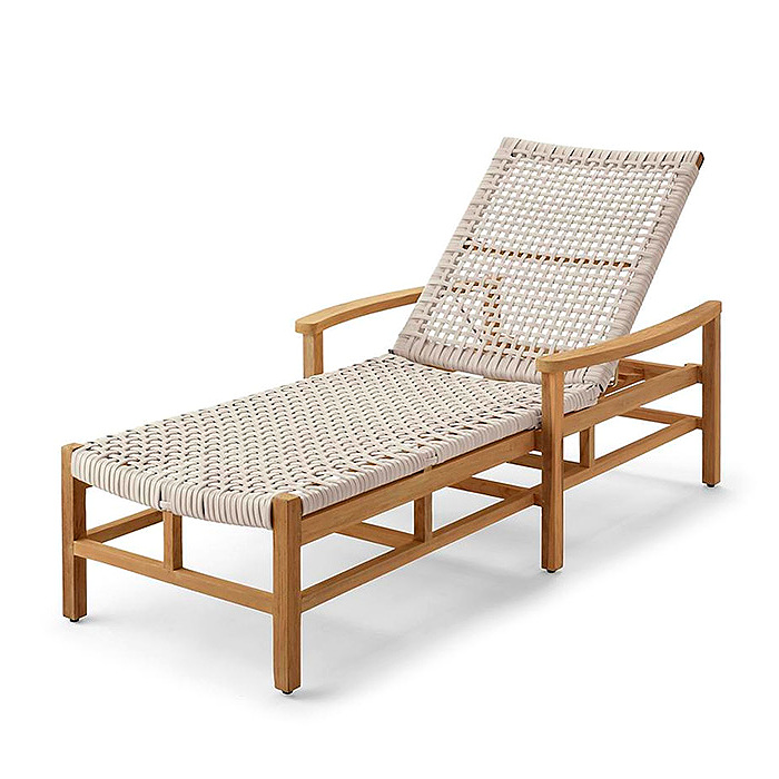 Copy of Isola Chaise Lounge in Weathered Finish