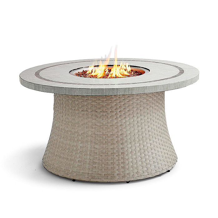 Copy of Pasadena Stone Top Fire Table in Grey