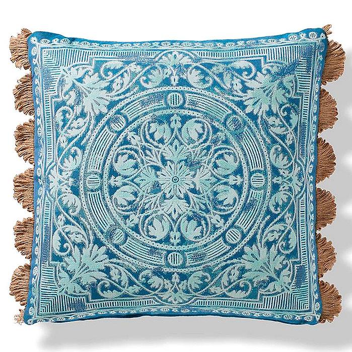 Copy of Terracina Indoor/Outdoor Pillow in Peacock