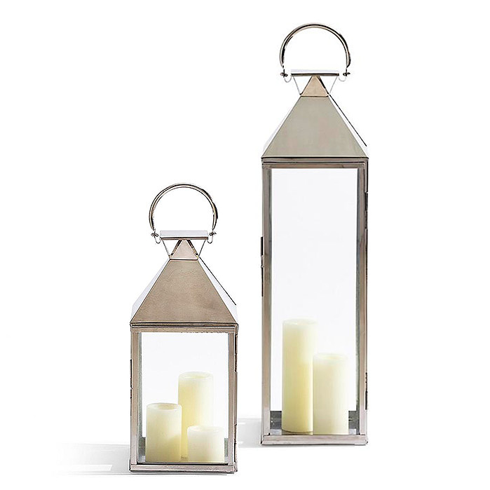 Copy of Quincy Lantern in Stainless Steel