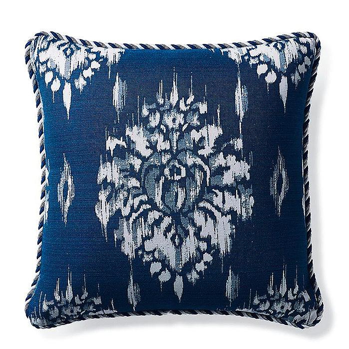 Copy of Hillcrest Ikat Indigo Outdoor Pillow