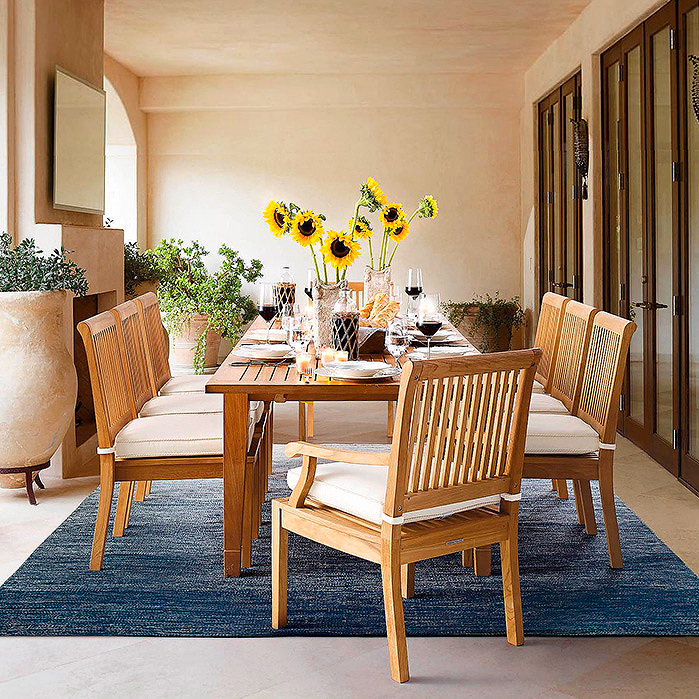 Copy of Cassara Dining in Natural Finish