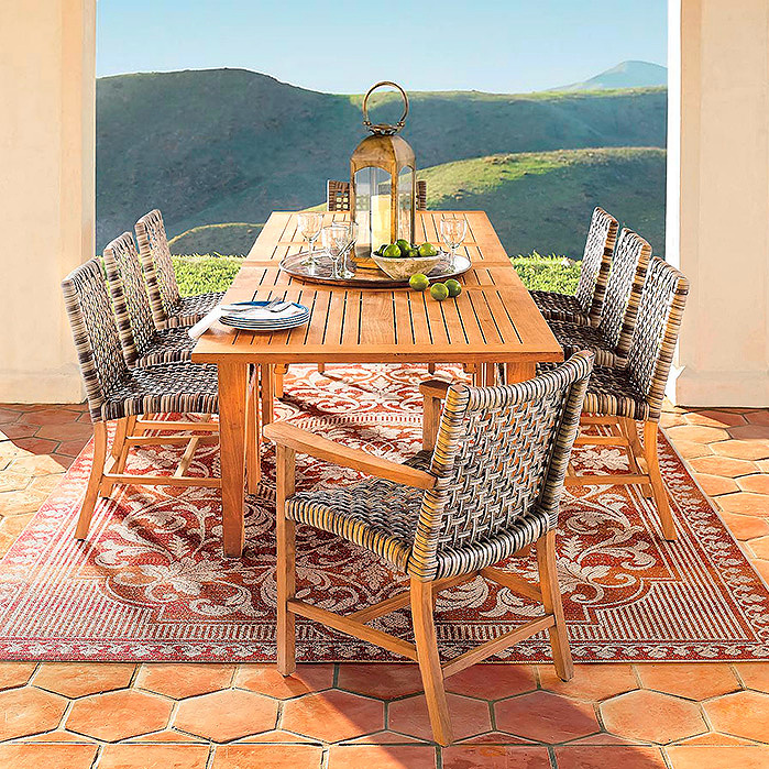 Copy of Isola Dining Collection in Natural Finish