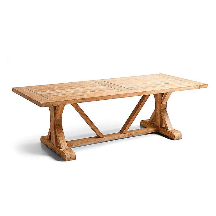 Copy of Washed Teak Farmhouse Table