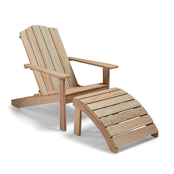 Copy of Rowan Adirondack Chair & Ottoman