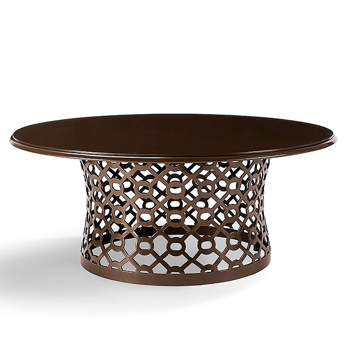 Copy of Geo Chat Table in Bronze