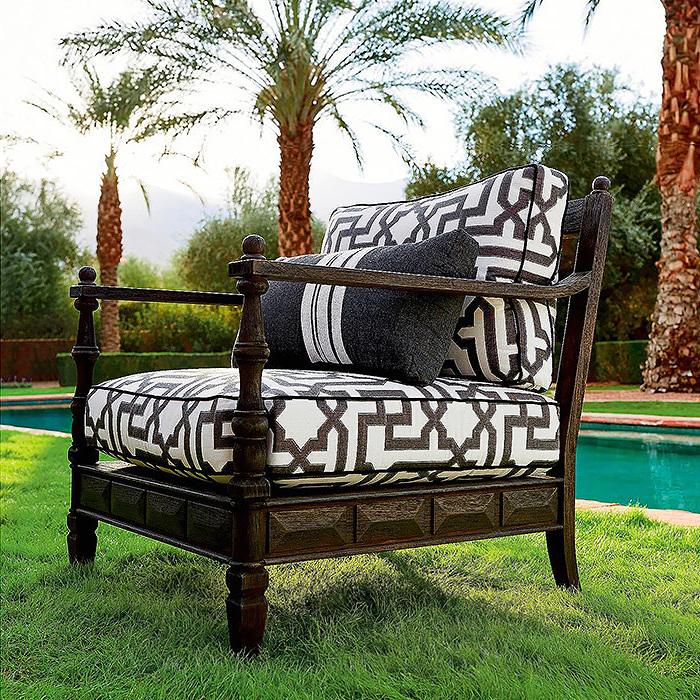 Copy of Nina Lounge Chair with Cushions by Martyn Lawrence Bullard