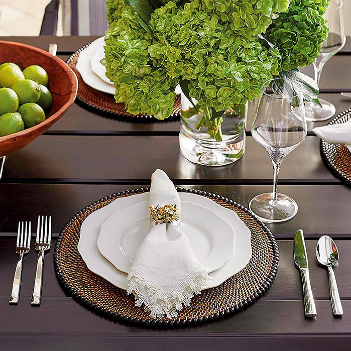 Copy of Calaisio Rattan Placemats, Set of Four