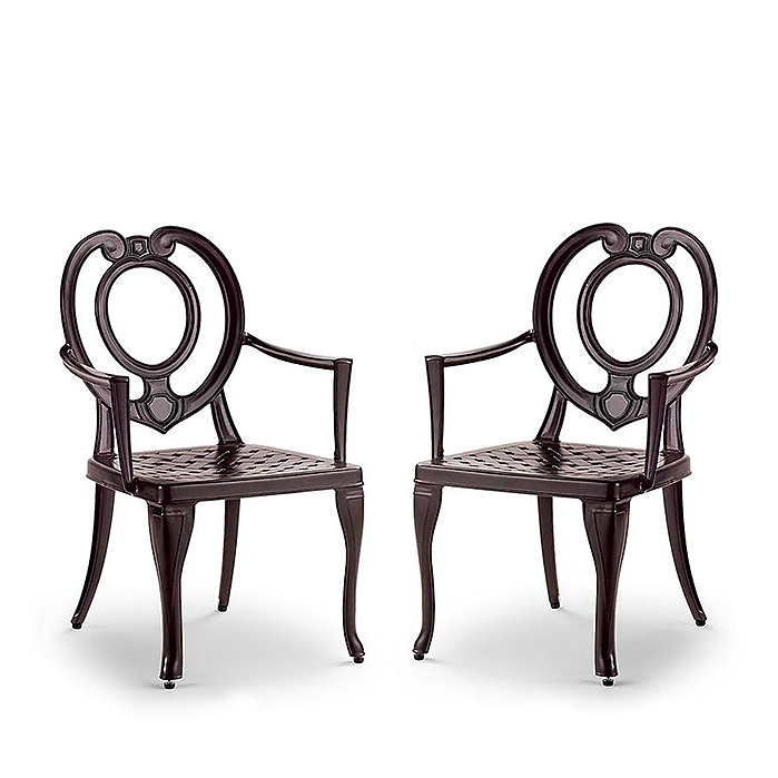 Copy of Catalina Dining Arm Chairs, Set of Two