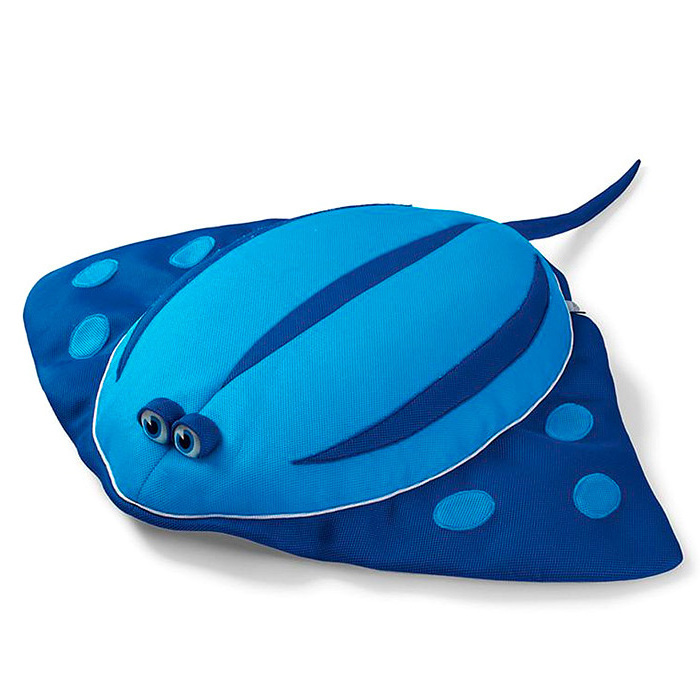 Glow-in-the-Dark Aqua Animalz Sammie Stingray