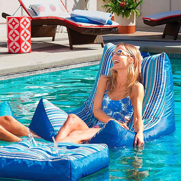 Oasis Pool Lounger & Ottoman