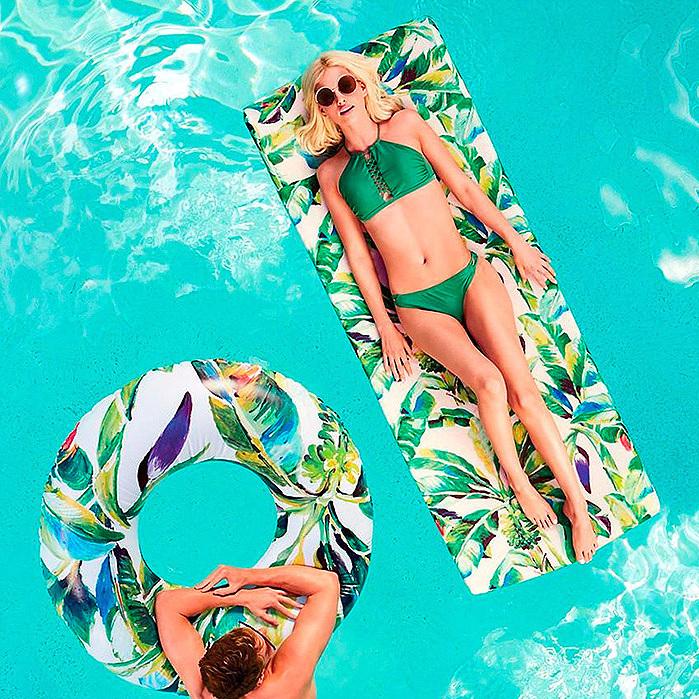 Tropical Breeze Tube Float