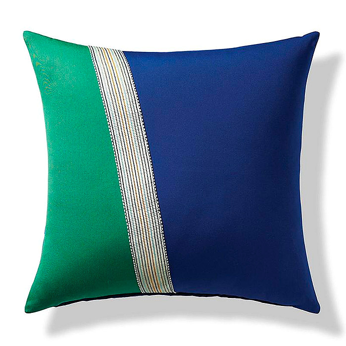 Ribbon Stripe Indoor/Outdoor Pillow