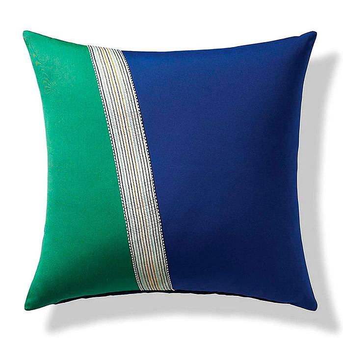 Ribbon Stripe Indoor/Outdoor Pillow