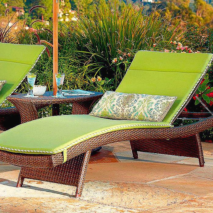 Balencia Chaise Lounge & Cushions
