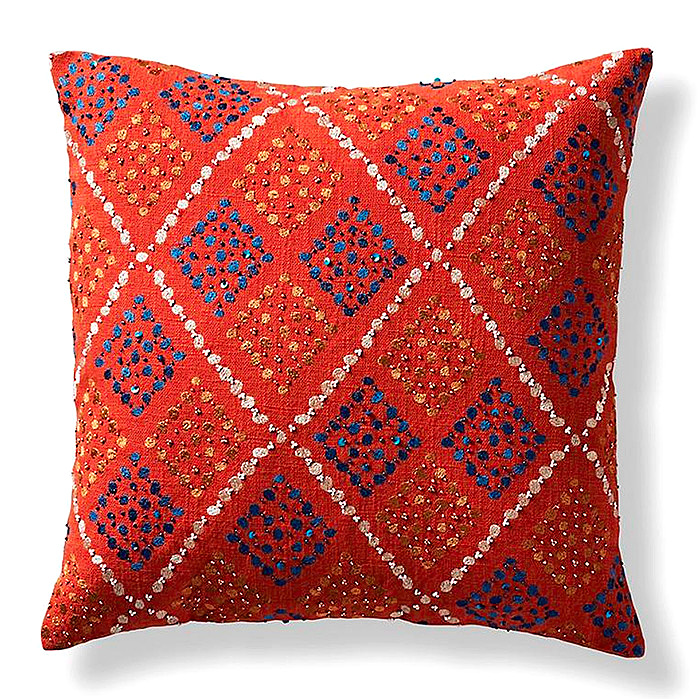 Giada Embellished Pillow Cover