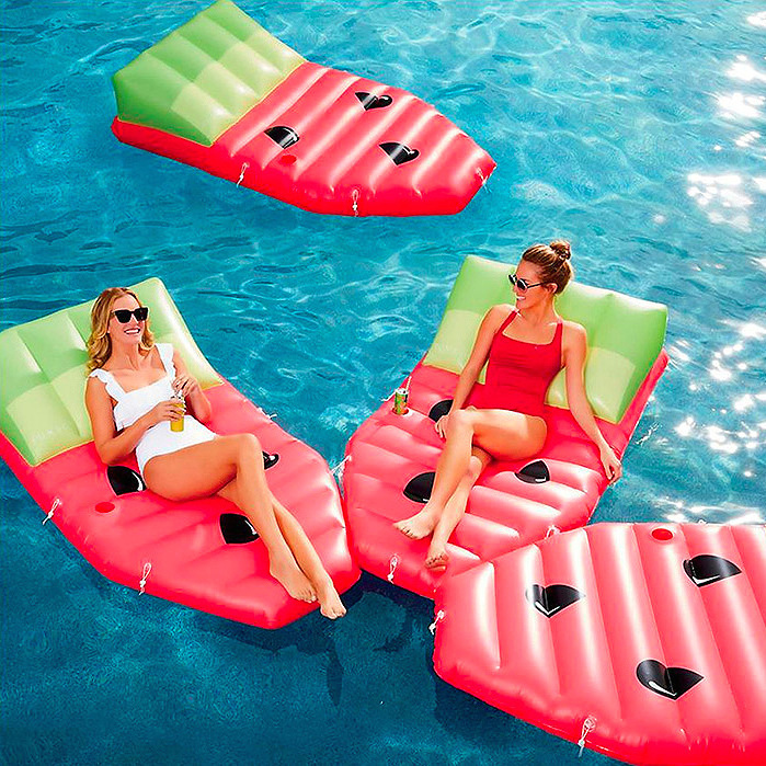 Modular Watermelon Daybed Float