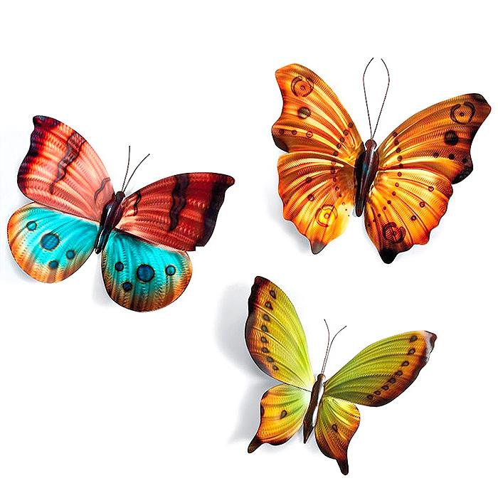 Copy of Brilliant Butterflies Wall Art by Copper Art