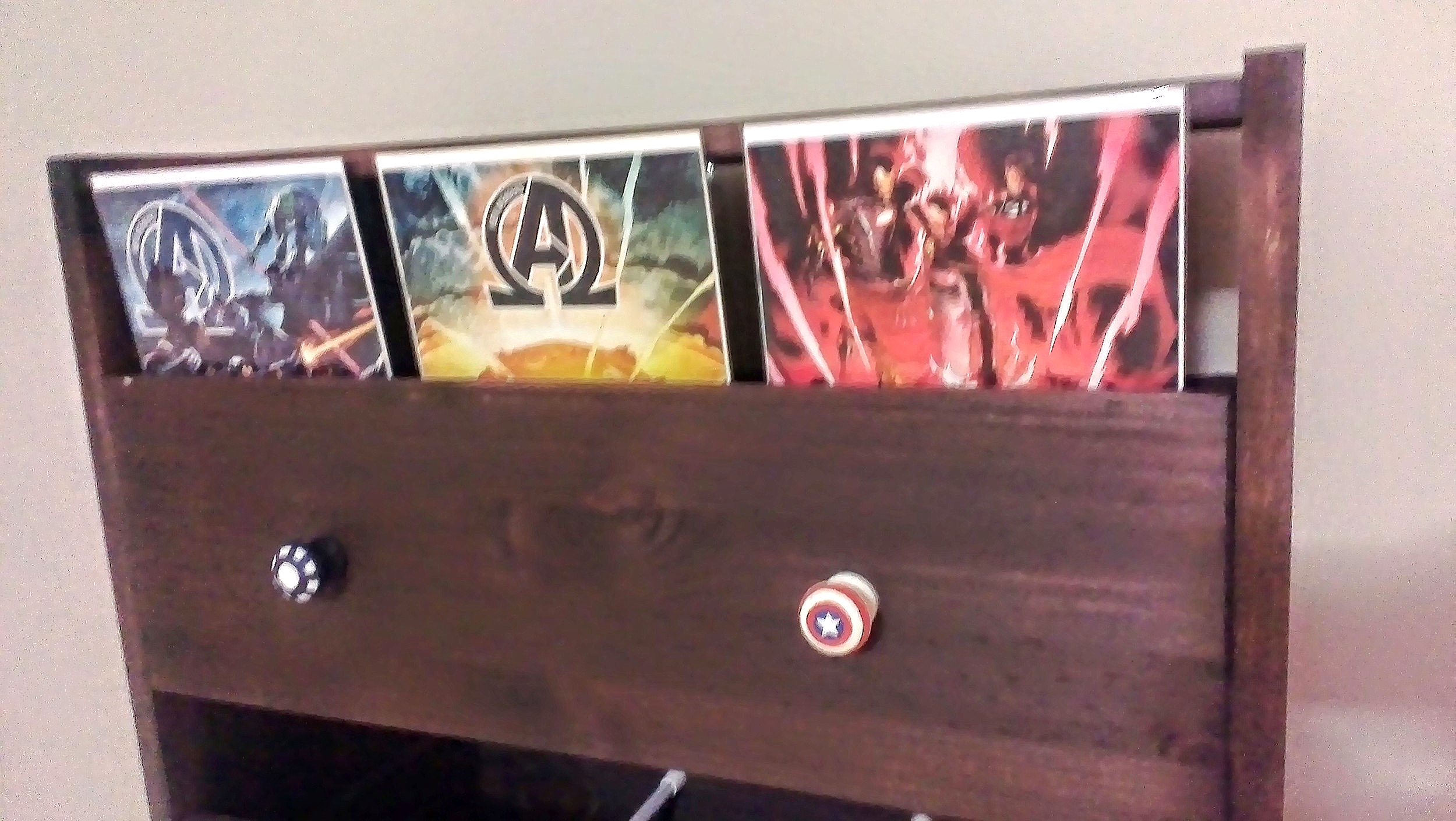 It only seemed appropriate to put Iron Man and Captain America together :)