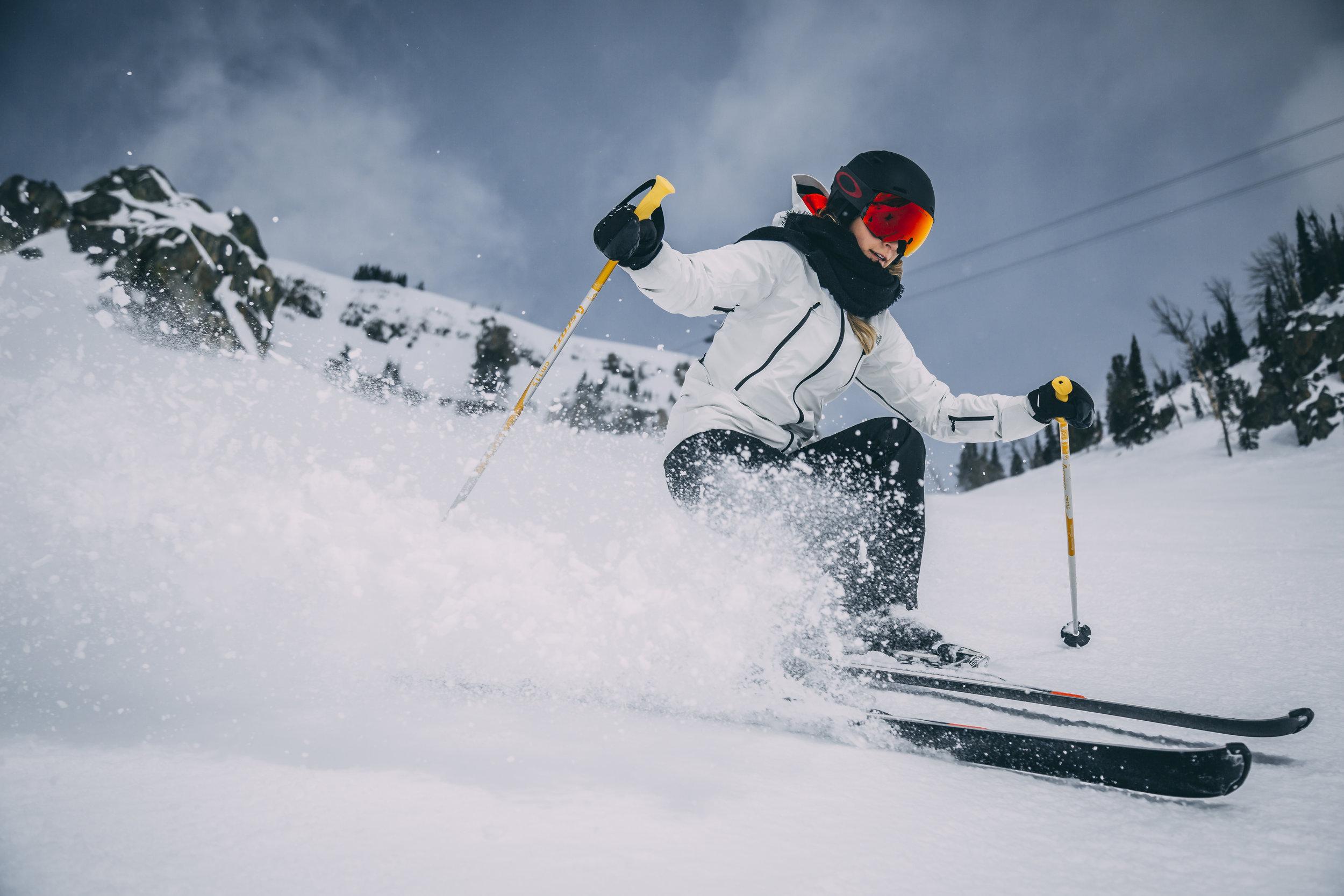 Wyoming-Colorado skiing Grand tetons