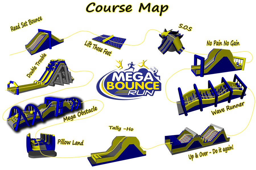 mega bounce run edmonton July