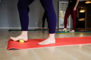 feet hips and low back tension release workshop