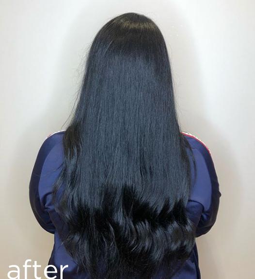 Blue-black colour