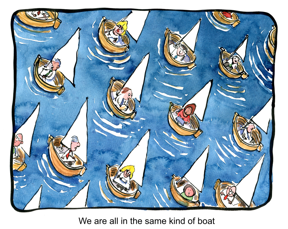 Same kind of boat